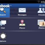 Como desconectase del chat de Facebook en BlackBerry