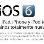 ¿Cuándo sale iOS 6? (Respondiendo)