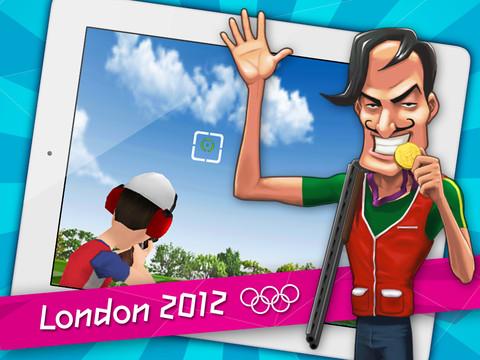 Juego de London 2012 en el ipad