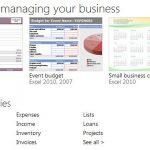Plantillas para Excel 2013 gratis