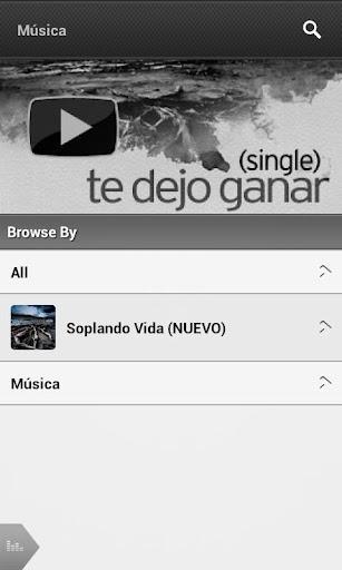 Aplicación de Jesus Adrian Romero para Android