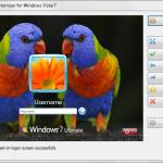 Cambiar el fondo de pantalla de inicio de sesión de Windows con  SLogonScreenCustomizer