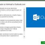 Ya podemos ver Se ha actualizado tu Hotmail a Outlook.com