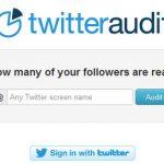 twitteraudit.com, saber cuántos de tus seguidores en Twitter son reales