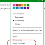 Como cambiar Outlook por Hotmail
