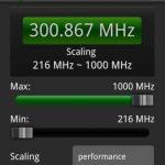 AnTuTu CPU Master, app Android para cambiar la velocidad  del procesador