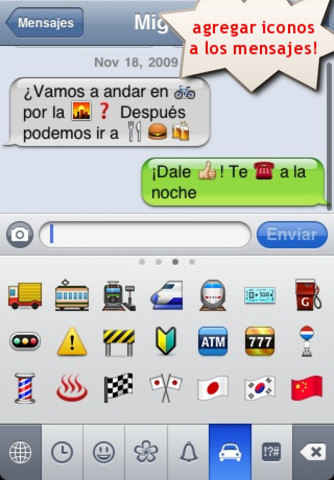 Emoji Free! para iphone emoticones gratis