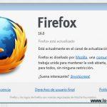 Firefox 16 beta disponible para descargar con soporte para aplicaciones