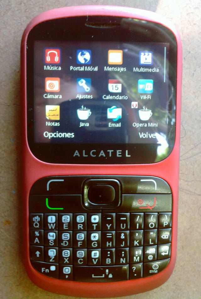 alcatel one touch 813a
