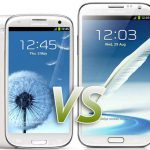 Samsung Galaxy Note 2 vs Samsung Galaxy S3
