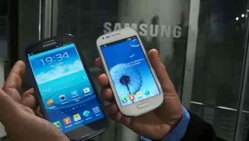 Galaxy SIII comparado con el Galaxy S3 mini