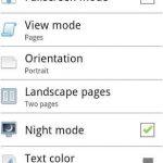 Abrir archivos de word en Android con Cool Reader