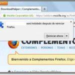 Firefox: hasta cuando no vamos a tener que reiniciar el navegador luego de instalar complementos