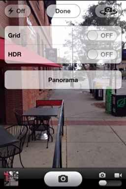 fotos en panorama iphone 5