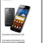 Galaxy s2 a android 4.1