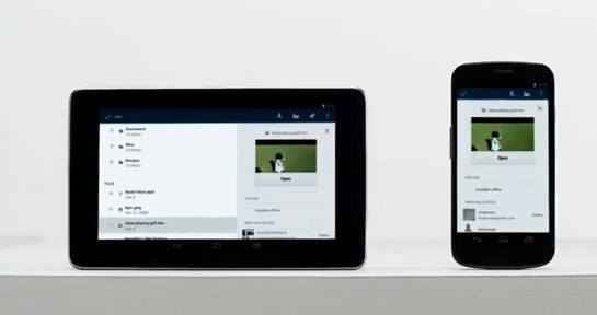 Google drive smartphones