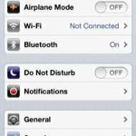 No molestar en iOS 6