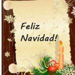 Feliz navidad!, tarjeta de navidad para compartir en Facebook, Google plus o imprimir