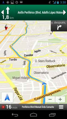 Google-Maps-Navigation-Mexico