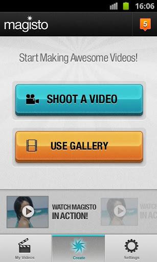 Magisto editor de videos