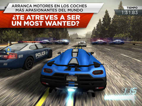 Need for Speed Most Wanted para ipad