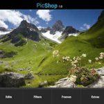 PicShop para Android: editar imágenes y agregar efectos