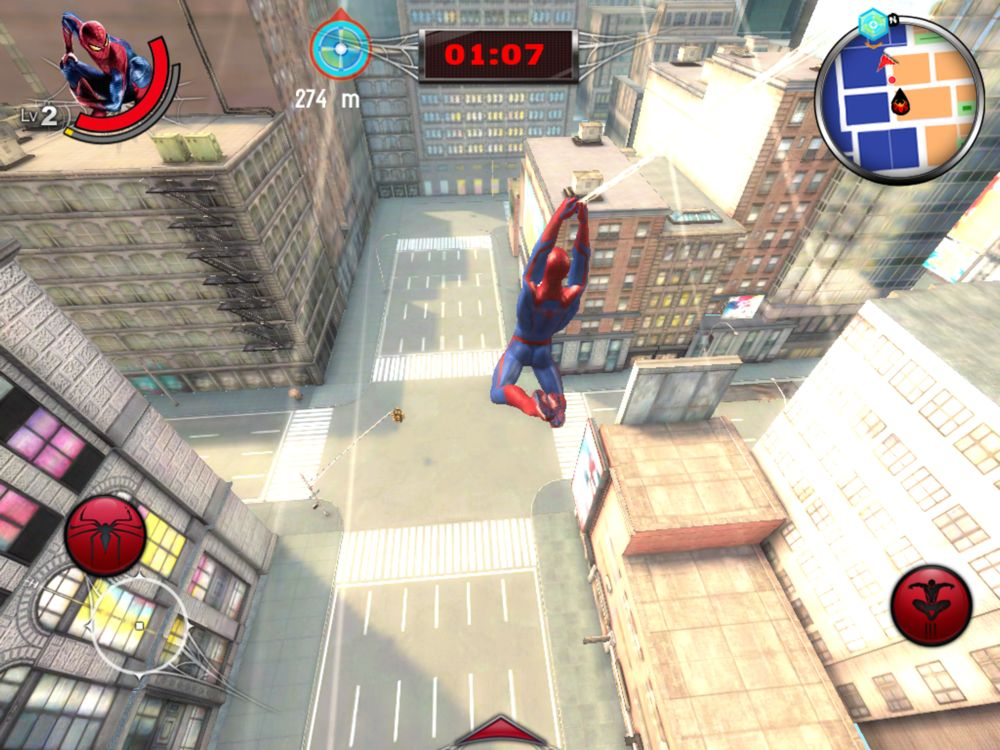 Amazing spider man 2 android скачать