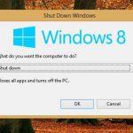 Como apagar Windows 8 rapido y fácil con dos pasos
