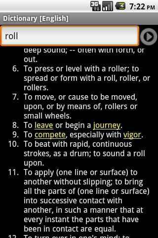diccionario ingles Android