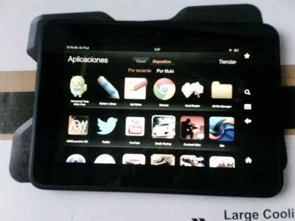 kindle fire hd google play apps