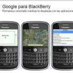 Blackberry: como bajar apps de Google