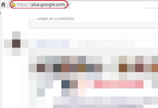 Google plus url personalizadas
