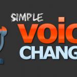 Simple Voice Changer: editor de voz que permite añadir efectos graciosos