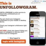 Unfollowgram: saber quien ya no te sigue en Instagram