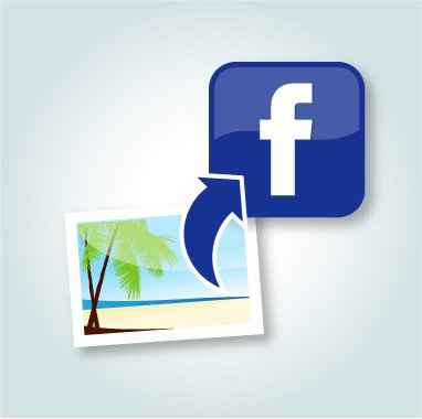 cargar fotos a facebook