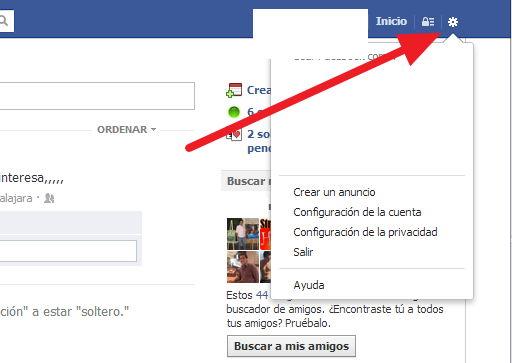 cerrar facebook 2013