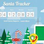 Seguir la ruta de Santa Claus 2012 con la ayuda de santatracker