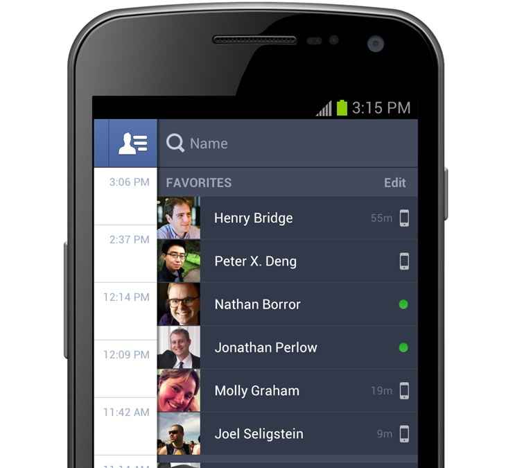 facebook android 2.0 chat