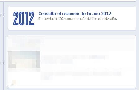 facebook resumen 2012