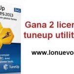 Regalamos 2 licencias de tuneup 2013
