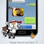 Line para Android – una alternativa a WhatsApp