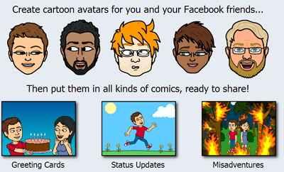 Bitstrips para facebook