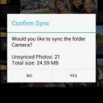 Cargar imágenes y comprimirlas en Google Drive con Gallery Drive Sync (App Android)
