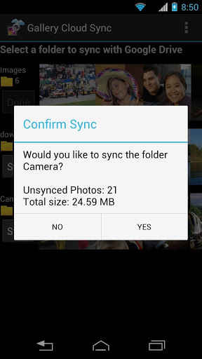 Gallery Drive Sync
