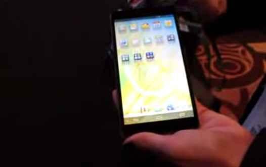 Huawei Ascend Mate en las manos