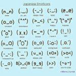 Emoticones Japoneses para tu muro de Facebook