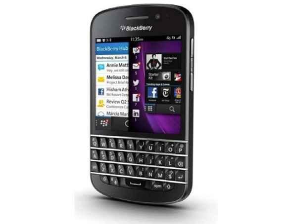 Blackberry q10 telefono con bb 10 os y teclado qwerty for Telefono bb