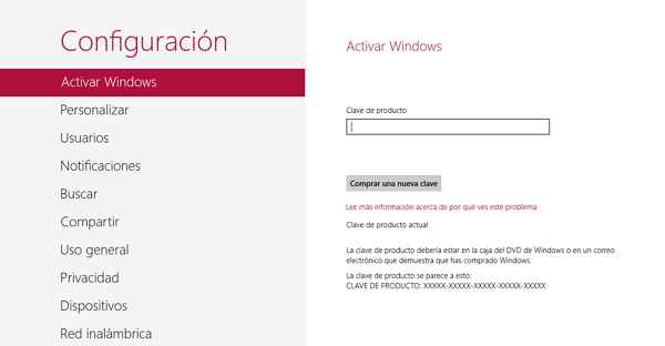 activar windows 8 procedimiento