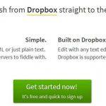 pancake.io, alojar tu propio sitio web gratis con la ayuda de dropbox