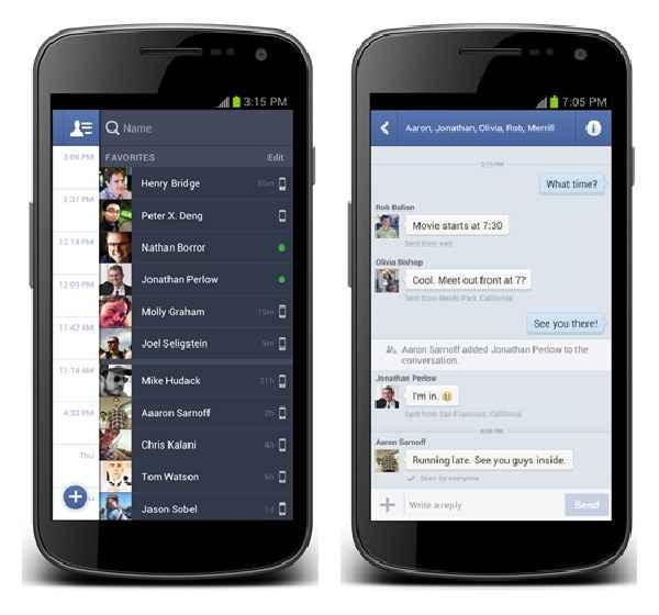 facebook messenger borrar una conversacion